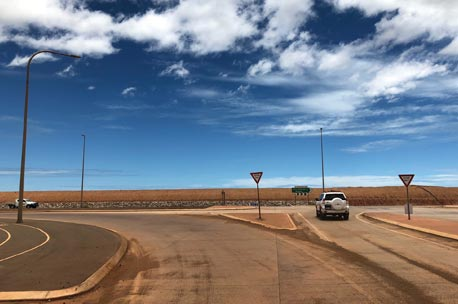 GREAT NORTHERN HIGHWAY RE-ALLIGNMENT